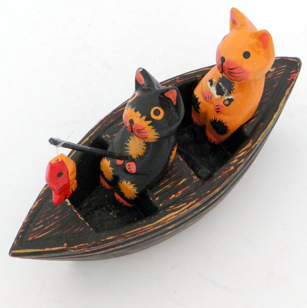 Load image into Gallery viewer, 2 Cats on a Boat