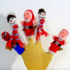 Load image into Gallery viewer, Handmade Finger puppets