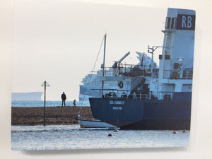 Sea Harmony Leaving Teignmouth (on canvas)