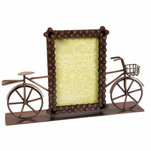 Bike Chain Bicycle Photo Frame