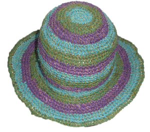 Load image into Gallery viewer, Nepalese Fair Trade Cotton Hat