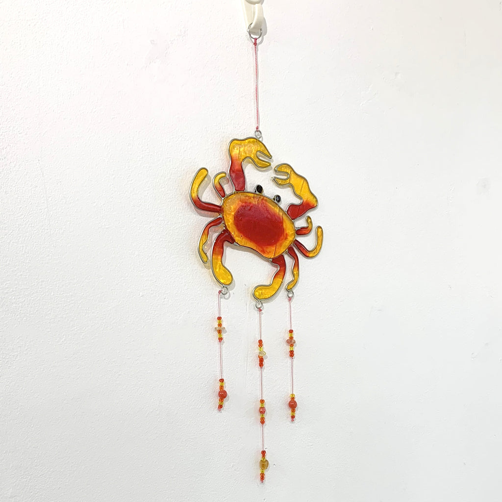 Crab Hanging Suncatcher