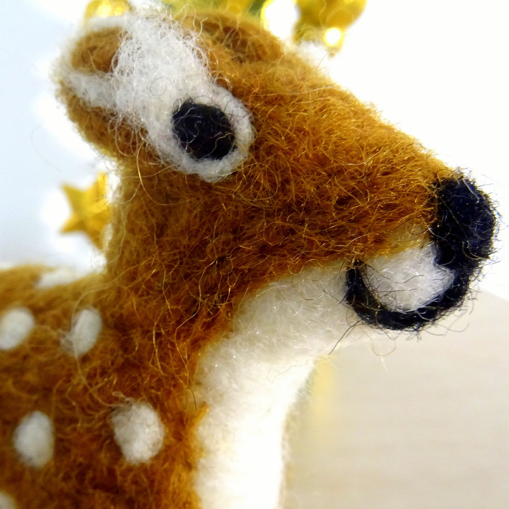 Handmade Deer Decoration