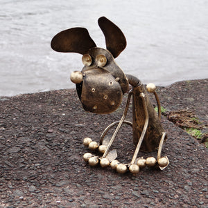 Metal Dog Ornament