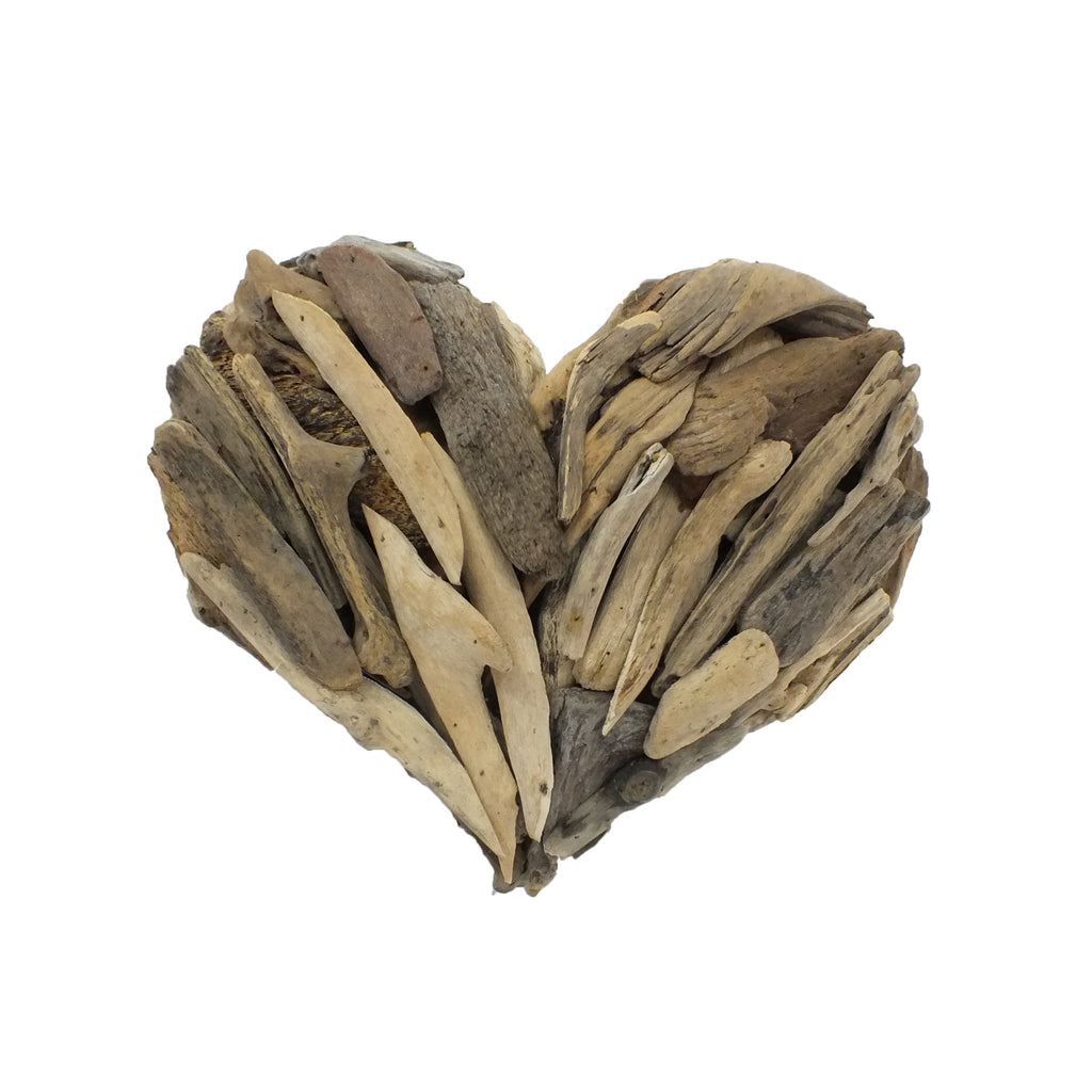 Driftwood Fair Trade Heart