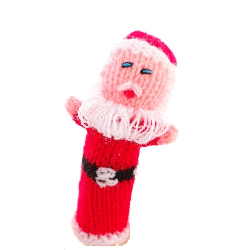 Father Christmas Finger Puppet