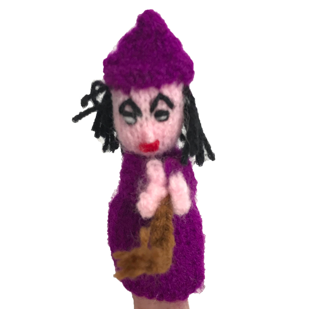 Finger Puppet Witch