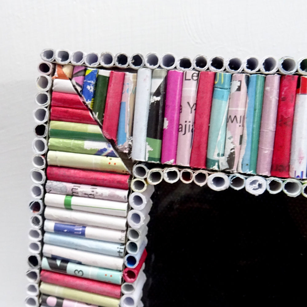 Flat Tubed Recycled Photo Frame