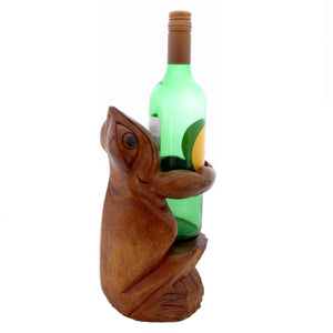 Frog Wine Bottle Holder