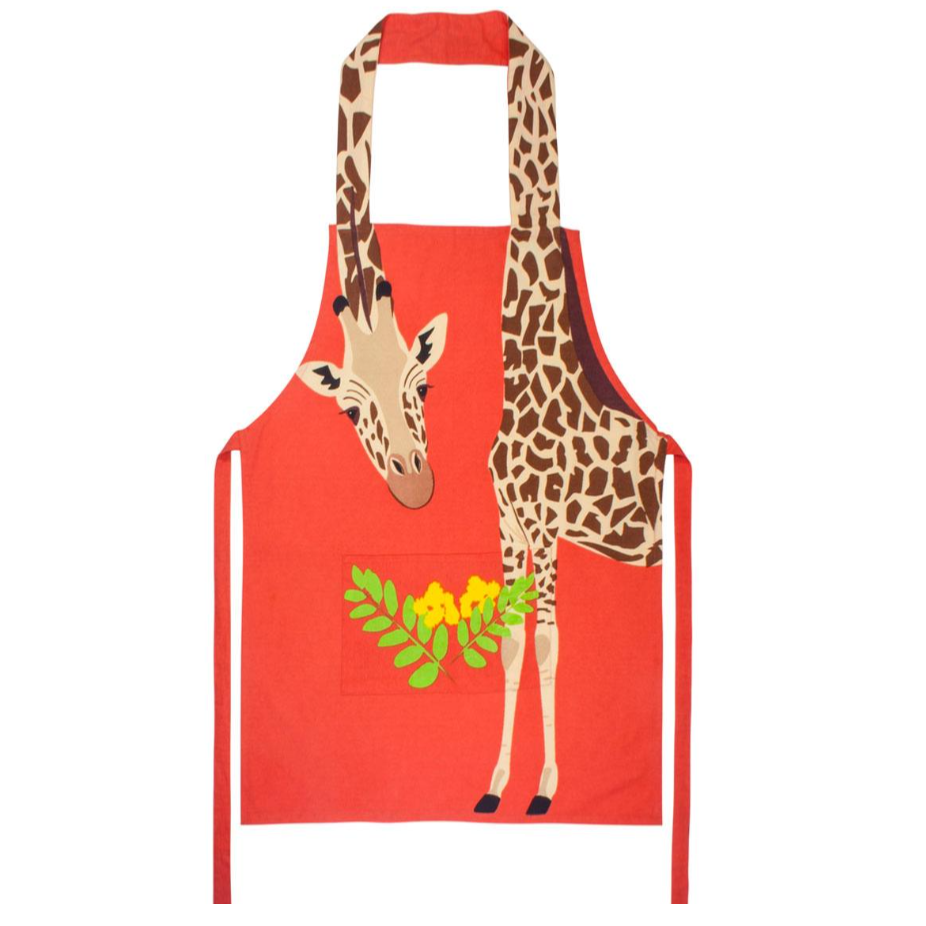 Giraffe Cotton Apron