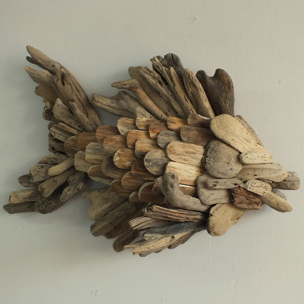 Load image into Gallery viewer, Hanging driftwood Fish