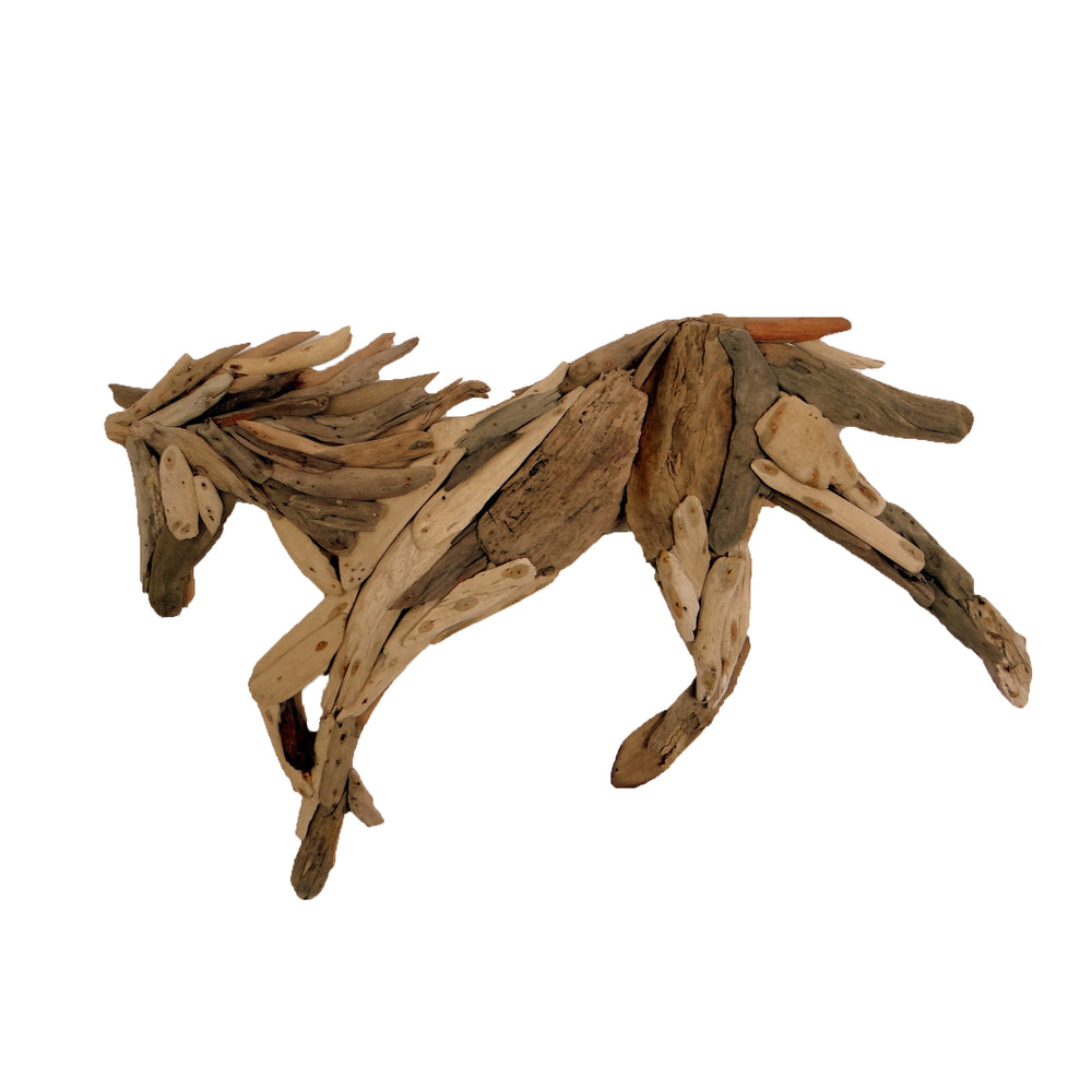 Driftwood Horse Hanging Decoration