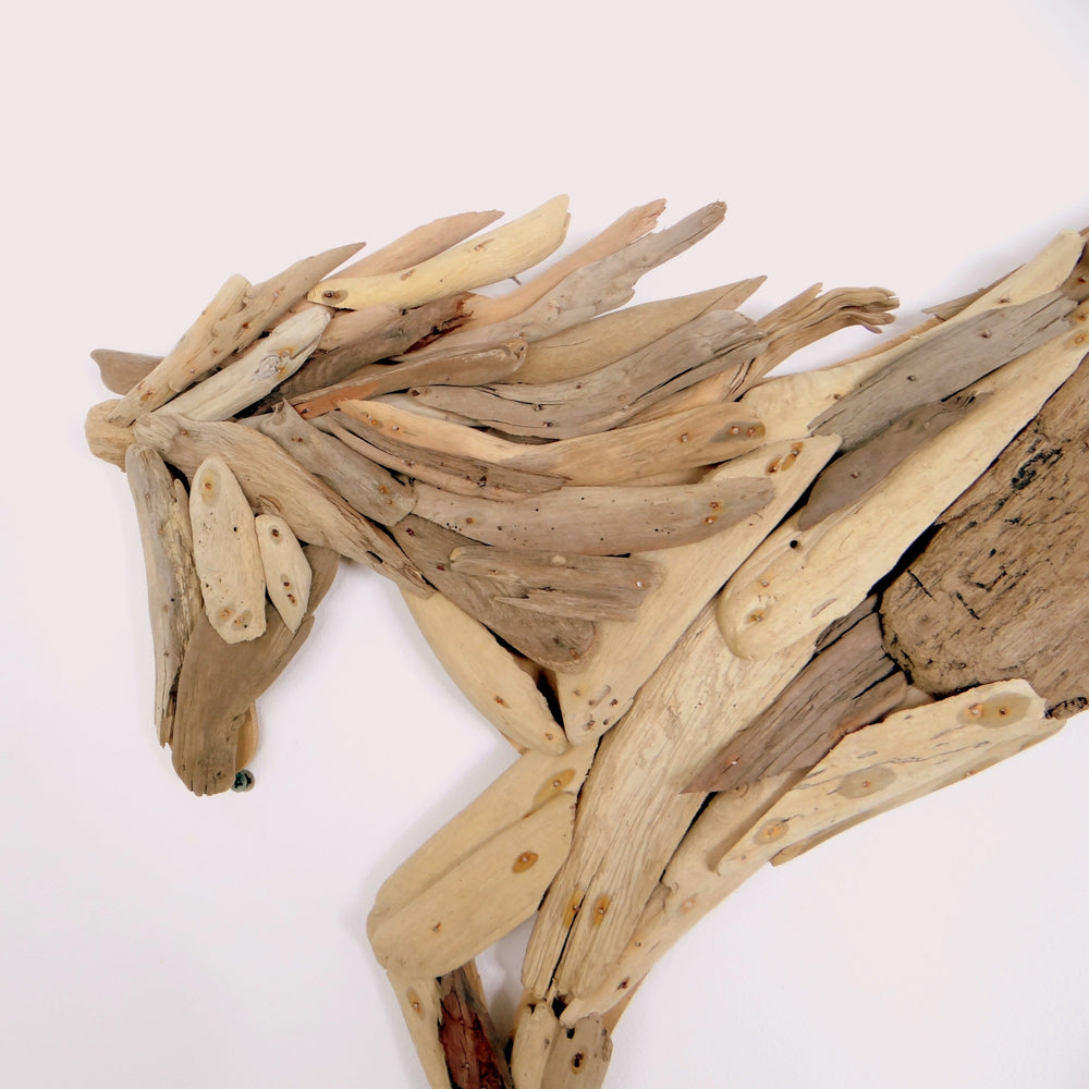 Load image into Gallery viewer, Hanging Driftwood Horse