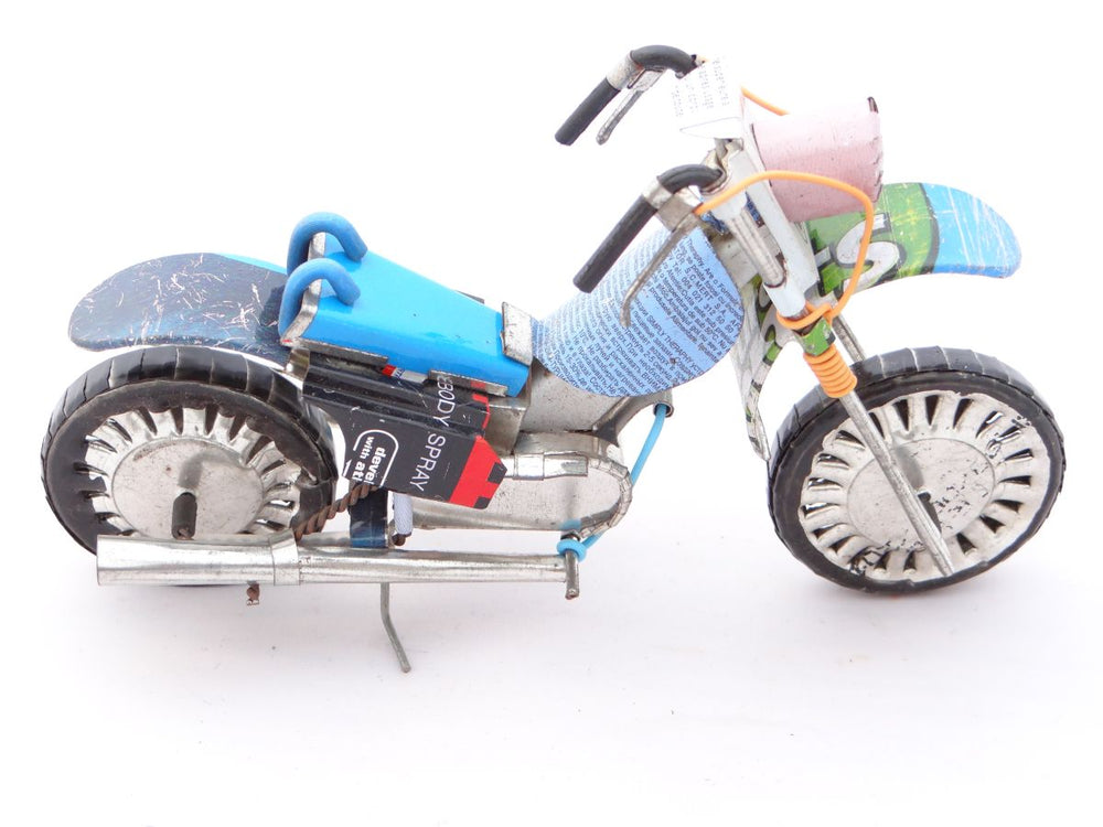 Model of a Harley Davidson Motorbike