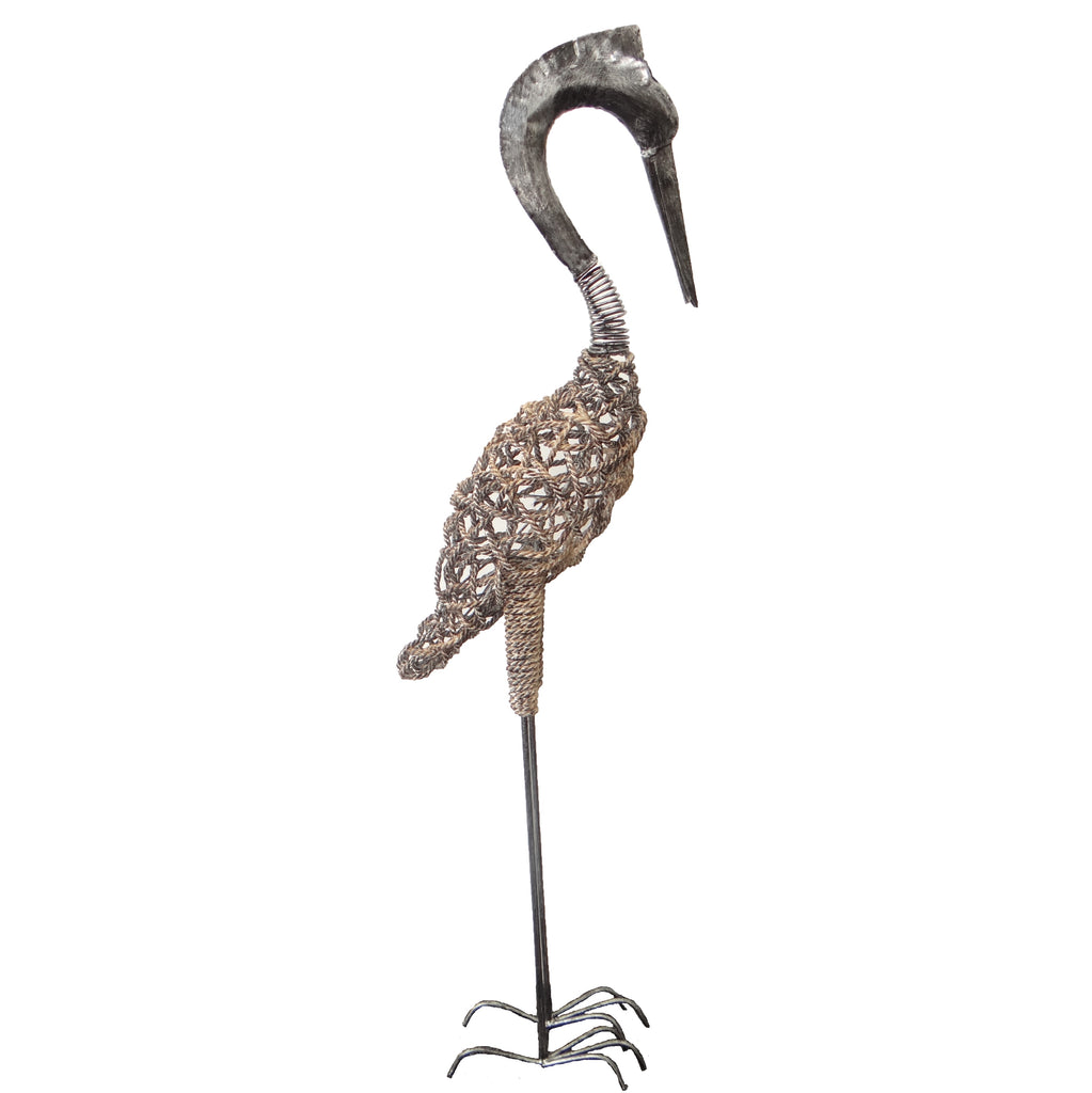 Heron Garden Ornament