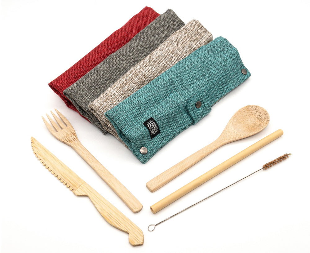 Bamboo Cutley Set