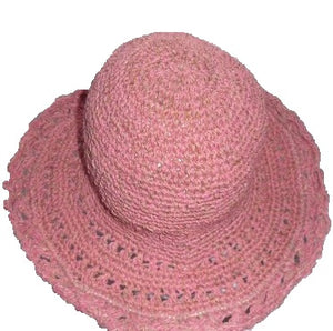 Load image into Gallery viewer, Fair Trade Pink Crochet Hat