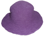 Purple Fair Trade Crochet Hat