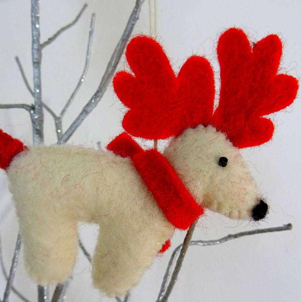 Christmas Reindeer Hanging Decoration
