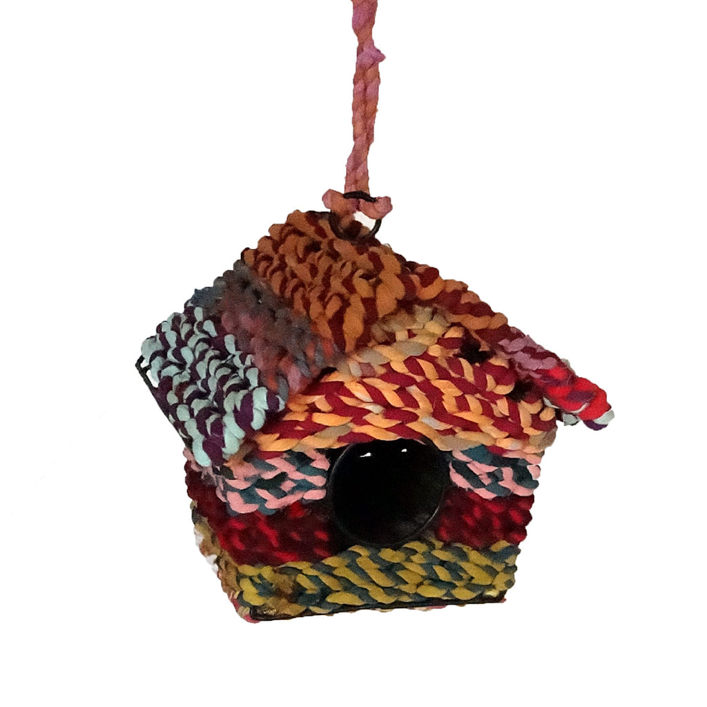 Fabric Fair Trade Birdhouse
