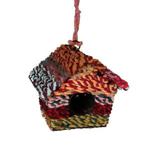 Load image into Gallery viewer, Fabric Fair Trade Birdhouse