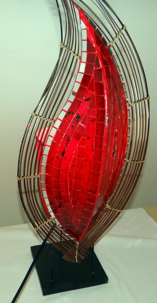 Red Flame Lamp