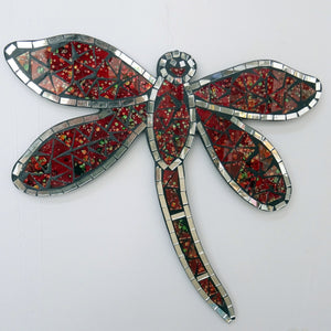 Red Dragonfly Wall Hanging