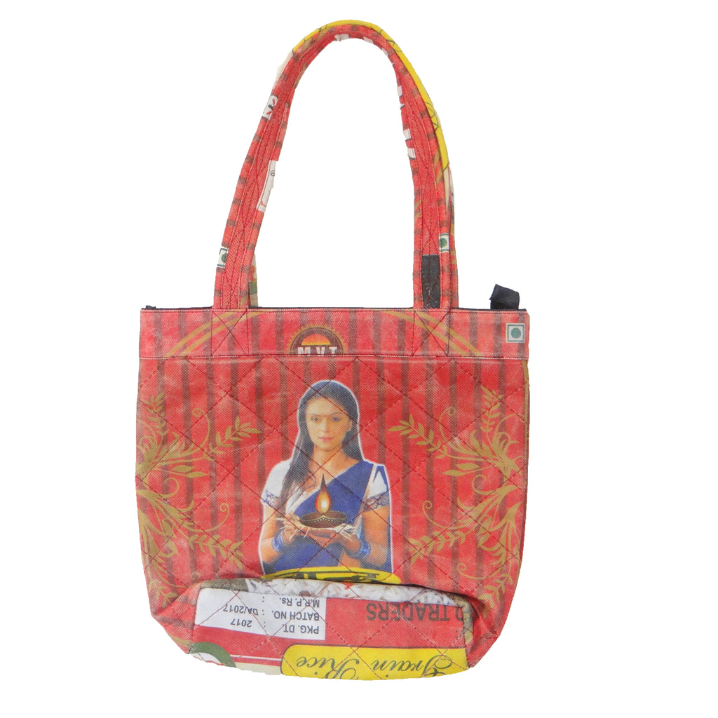 Red Eco-Friendly Shopping Bag