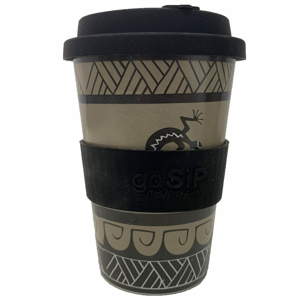 Dragonfly & Gecko Reusable Cup