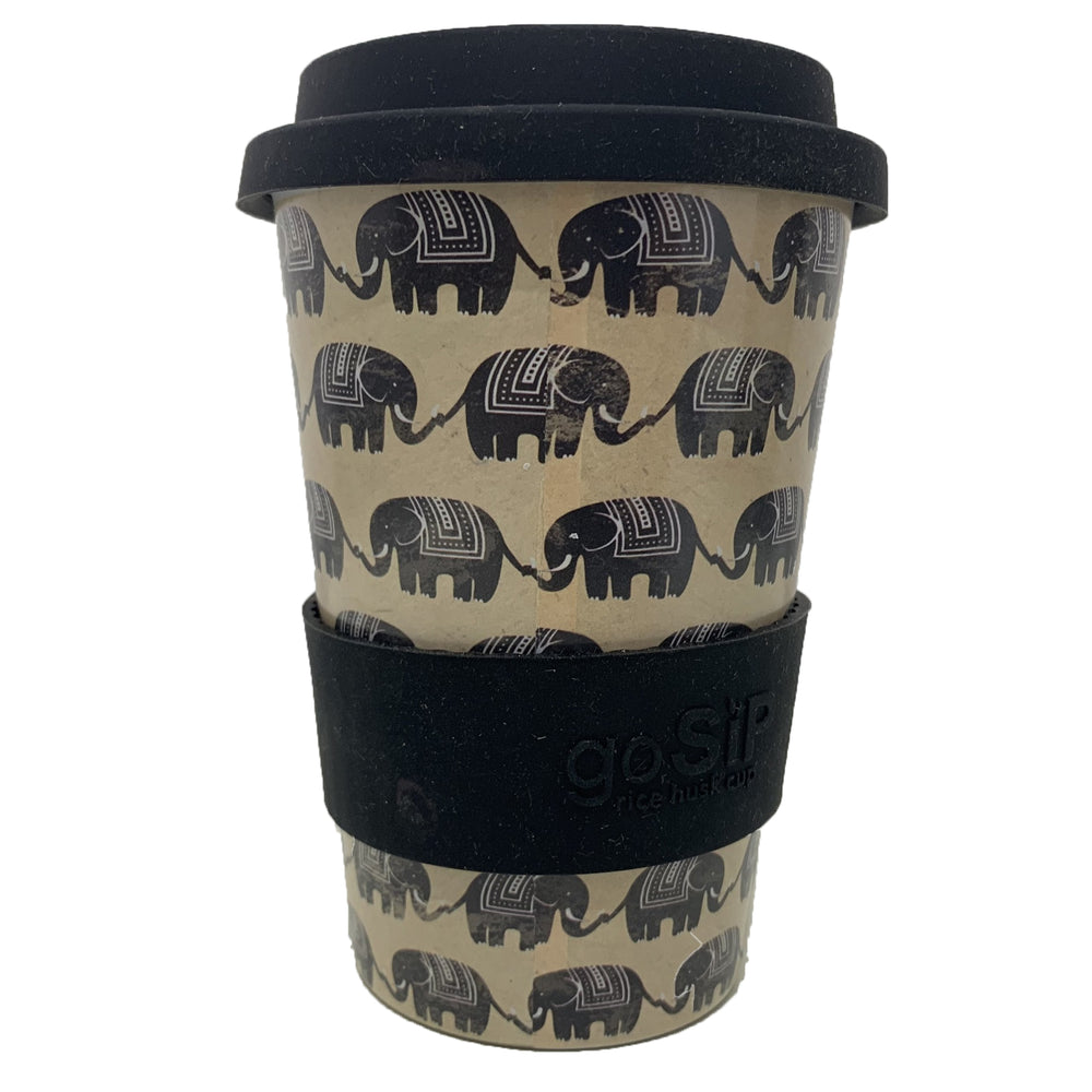 Elephants Reusable Cup