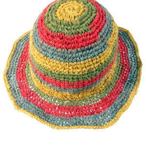 Load image into Gallery viewer, Trendy Fair Trade Multi-coloured Hat