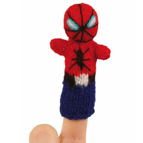Spiderman Finger Puppet