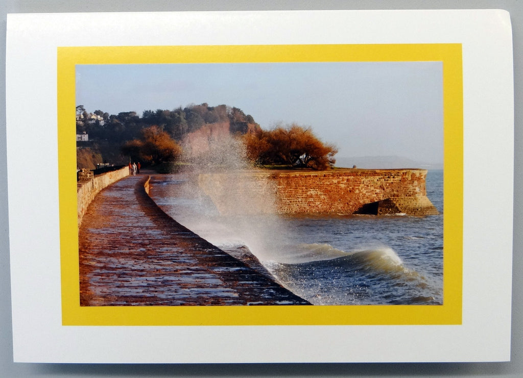 Teignmouth Seafront Card