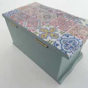 Upcycled Jewellery Box