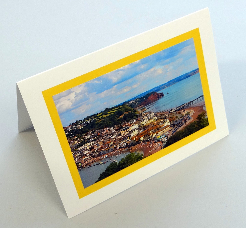 Load image into Gallery viewer, View of Teignmouth Card