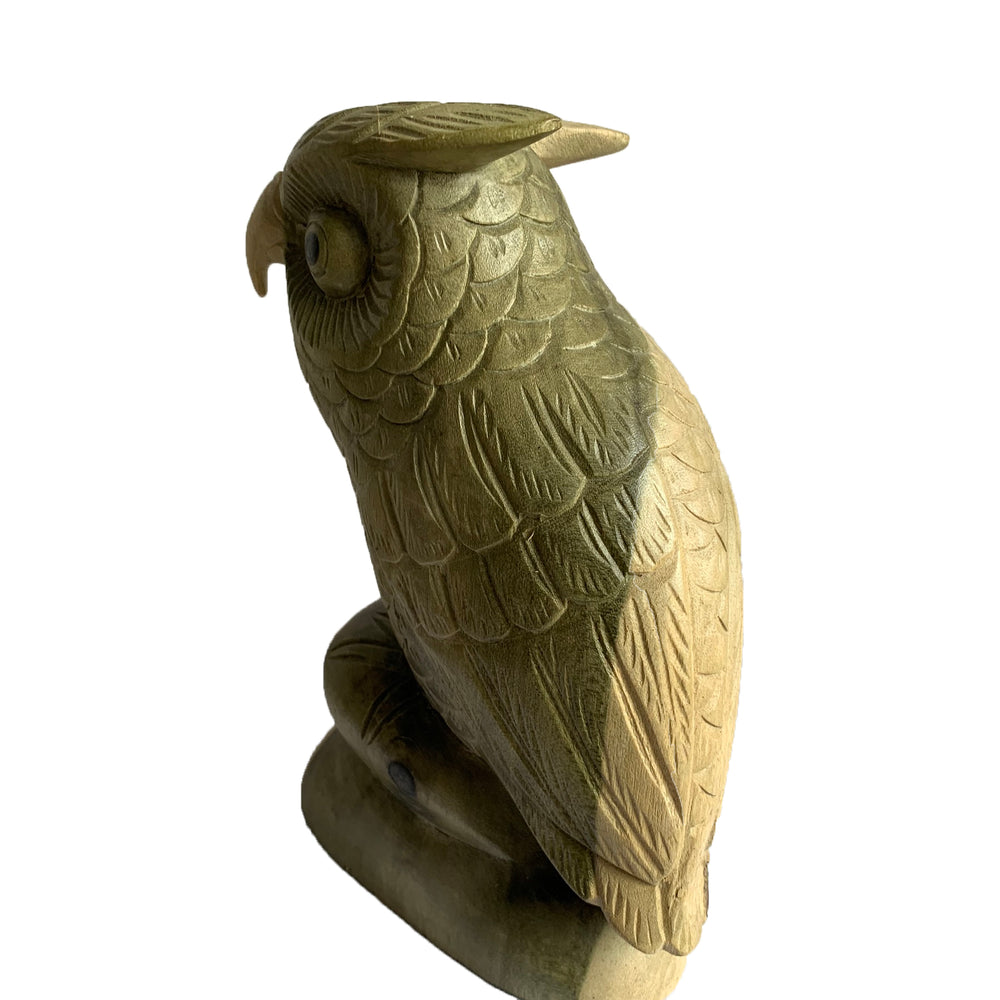 Load image into Gallery viewer, Wooden Owl Ornament