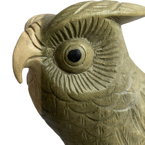 Load image into Gallery viewer, Wooden Owl