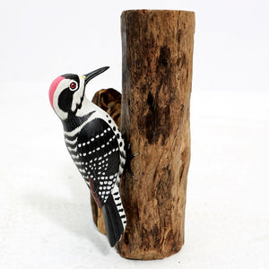 Load image into Gallery viewer, Woodpecker bird ornament