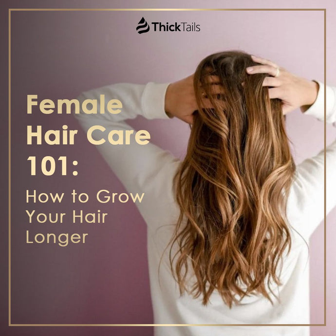 Female Hair Care 101:  How to Grow Your Hair Longer
