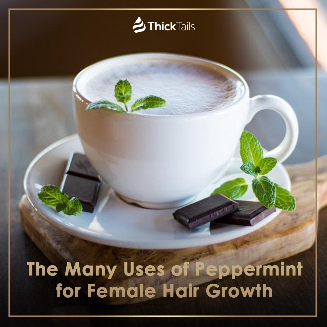 The Many Uses of Peppermint for Female Hair Growth