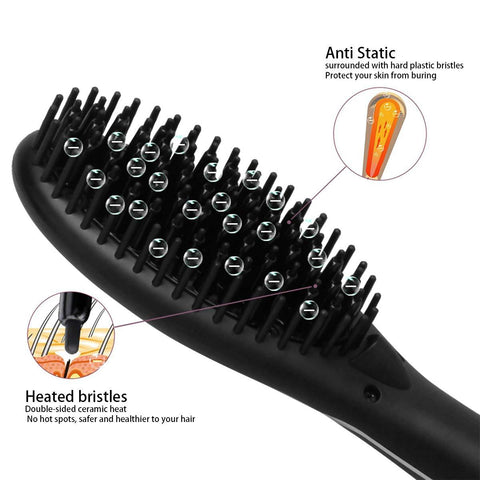 Ionic Hot Straightening Brush