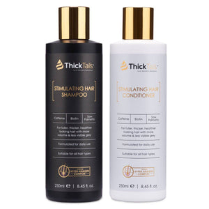 Biotin Hair Growth Shampoo and Conditioner for Women by ThickTails