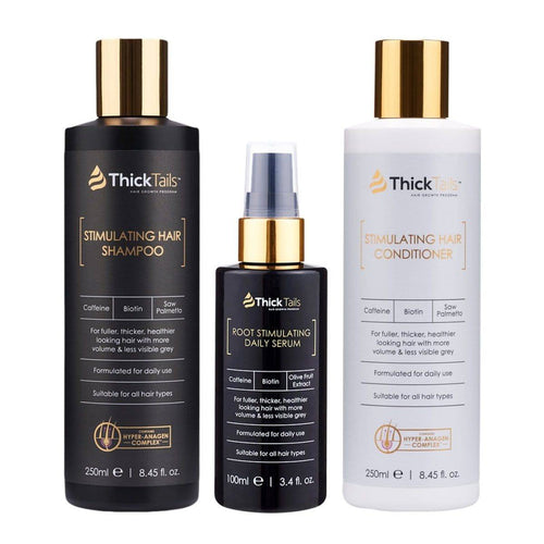 Hair Growth Shampoo, Conditioner and Serum for Women by ThickTails