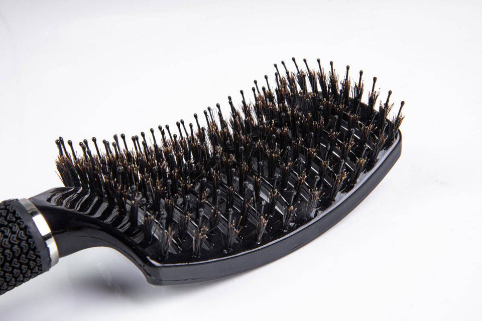 Vented Boar Bristle Professional Hair Brush by ThickTails