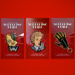 House of the Screaming Child – 3 Pin Pack