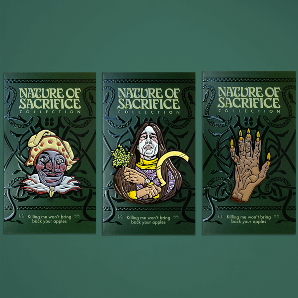 Nature of Sacrifice – 3 Pin Pack