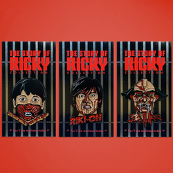 Riki Oh: The Story of Ricky – 3 Pin Pack