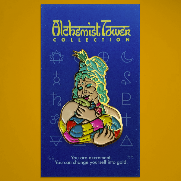 "Alchemist Tower - ""Uranus' Wife"" Enamel Pin"