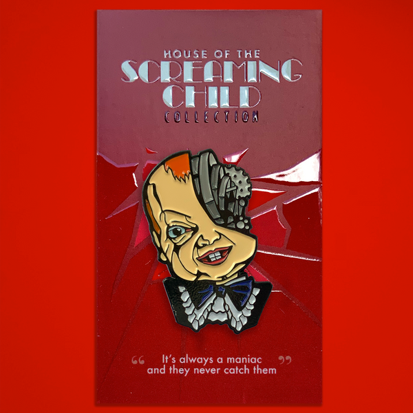 "House of the Screaming Child - ""Mechanical Doll"" Enamel Pin"