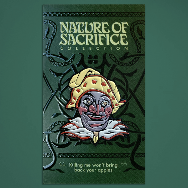 "Nature of Sacrifice - ""Fool"" Enamel Pin"